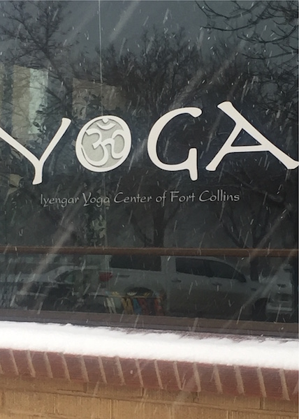 new yoga window snow